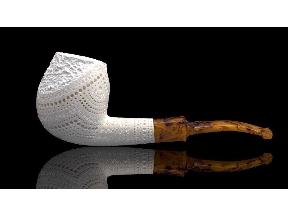 Handmade Block  Meerschaum Pipe
