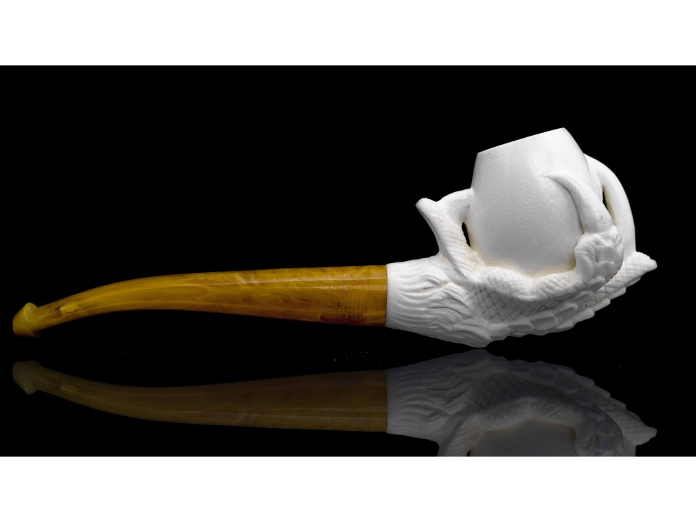 Meerschaum Eagle Claw Pipe