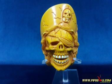 Meerschaum Pirate Skull Pipe