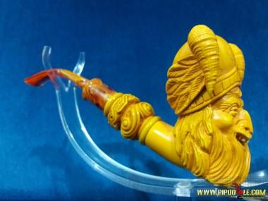 Meerschaum Calcined Viking Pipe