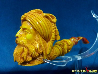 Meerschaum Block Sultan Pipe
