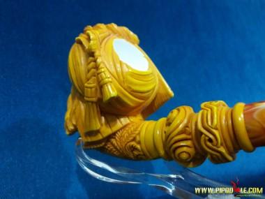 Meerschaum Block Sultan Pipe