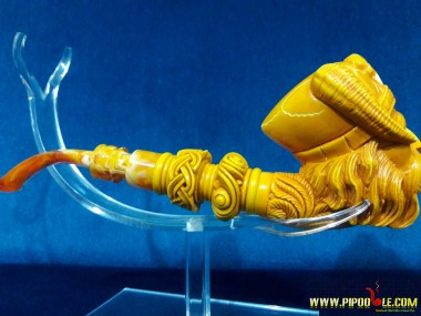 Meerschaum Viking Pirate Pipe
