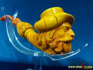 Handmade Meerschaum Pipe