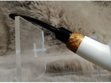 Epoxy with Block Meerschaum Pipe