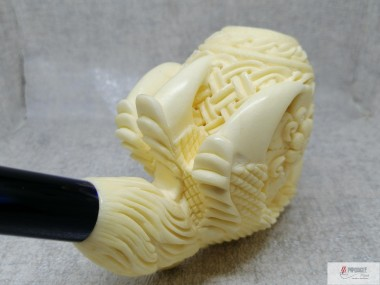 Meerschaum Figural Dragon Claw Pipe