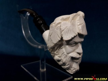 Block Meerschaum Bacchus Pipe