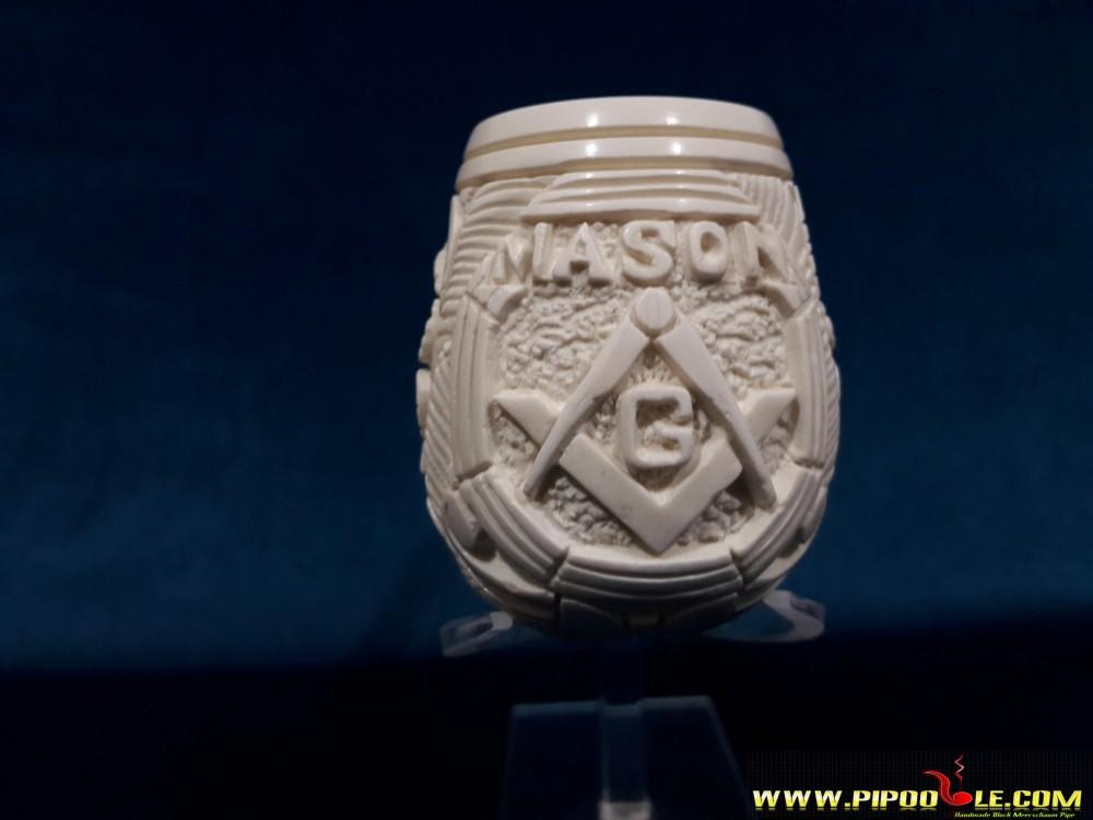 Masonic Meerschaum Pipe