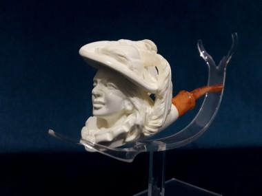 Block Meerschaum Lady Pipe