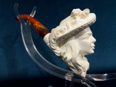 Block Meerschaum Lady Pipe 2