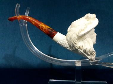 Block Meerschaum Lady Pipe 2