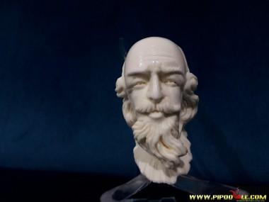 Block William Shakespeare Portre Pipe