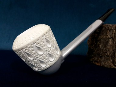 Handmade Meerschaum Falcon Bowl