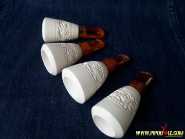 Block Meerschaum Cigar Holder (18 mm)