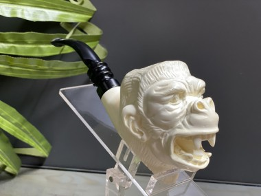 Block Meerschaum King Kong Pipe