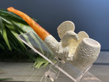 Block Meerschaum Eagle Pipe