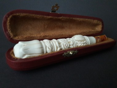 Handmade Meerschaum Cigarette Holder
