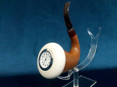 Calabash Pipe With Special Clock
